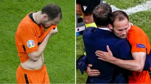 Daley Blind Left Pitch In Tears When He Came Off Against Ukraine