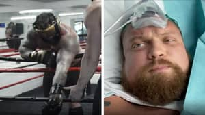 Eddie Hall OUT Of Boxing Match Against Hafthor Bjornsson After Suffering Detached Bicep