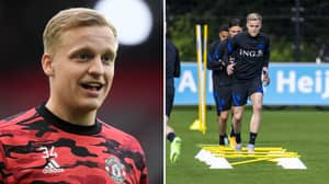 Donny Van De Beek Has Enlisted Personal Trainer To Help Gain Muscle And It Looks Like It's Working