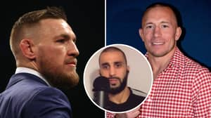 Conor McGregor Branded A 'Sorry Excuse For A Human' By Georges St-Pierre's Coach