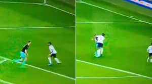 Fans Can't Believe Tyrone Mings' Violent Bodycheck In England Vs Austria