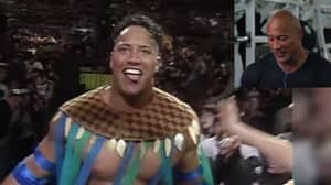 Watch: The Rock Commentating On His WWE Debut Is Absolutely Electrifying