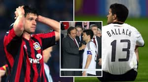 Michael Ballack Might Be The Unluckiest Player In Football History When It Comes To Losing In Finals