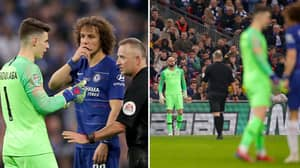 David Luiz Reveals What He Said To Kepa During Substitution Fiasco