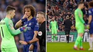 David Luiz Reveals What He Said To Kepa During Substitution Fiasco