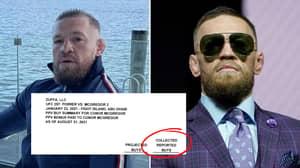 Conor McGregor Leaks UFC Receipt, Reveals Monstrous PPV Buys For Dustin Poirier Fight