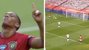 Anthony Martial Scores Manchester United's First League Hat-trick In Seven Years
