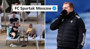 Spartak Moscow Randomly Troll Celtic With Hilarious Twitter Post After Controversial Dubai Trip