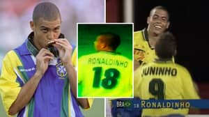 When Ronaldo Nazario Was Known As Ronaldinho At The 1996 Olympic Games