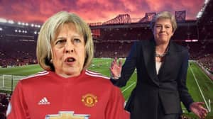 Paddy Power Have Made Theresa May 500/1 To Be Manchester United's Director Of Football