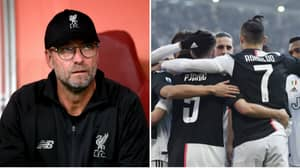 Jurgen Klopp On Why He Believes Juventus Will Win The Champions League This Season