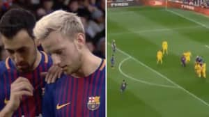 Watch: Footage Shows Busquets' Clever Role In Messi's Free-Kick Against Atletico
