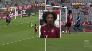 Bayern Munich's Joshua Zirkzee Cockily Tried To Walk The Ball Into The Net And It Backfired Massively