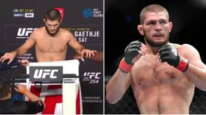 """Khabib Nurmagomedov Branded A """"P**sy"""" For Not Fighting At Welterweight"""