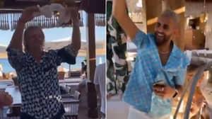 'Agent Mahrez' - Erling Haaland Spotted Partying With Riyad Mahrez In Mykonos