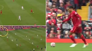 Virgil van Dijk Played An Inch-Perfect Cross-Field Pass In The Build Up To Liverpool's Second Goal
