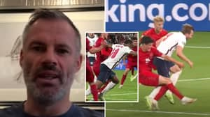 Jamie Carragher Says Raheem Sterling & Harry Kane Are 'Streetwise' Rather Than 'Cheaters'