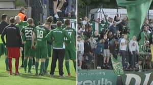 Fans Show Incredible Support As Club Gets Relegated To Fifth Tier
