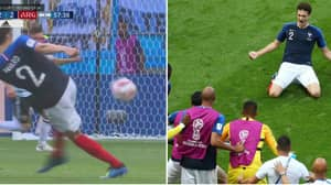 Benjamin Pavard Scores The Most Satisfying Goal Of The World Cup