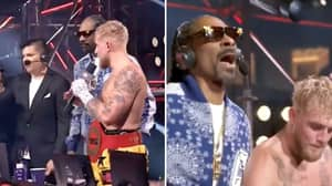 "Snoop Dogg Screams ""Dana White, Where's My Money At?"" After Winning $2 Million Bet On Jake Paul Fight"