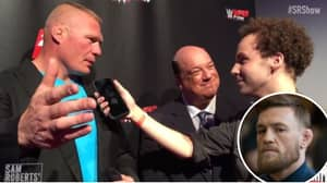 Brock Lesnar's Absolute Savage Response When Asked If He'd Take On Conor McGregor