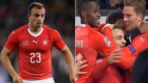 Xherdan Shaqiri Stars For Switzerland As They Beat Belgium 5-2