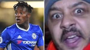 Chelsea Forward Michy Batshuayi Responds To ArsenalFanTV's Troopz
