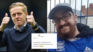 Birmingham Manager Garry Monk Pays For Fan To Have Tattoo Of Him On His Arse