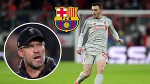 Barcelona Are Preparing To Make A Summer Move For Liverpool Star Andy Robertson