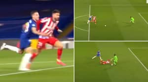 Fans Stunned As VAR Fails To Give Atletico Madrid Blatant Penalty Vs Chelsea