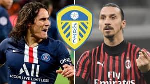 Leeds Owner Responds To Rumours Club Will Sign Zlatan Ibrahimovic And Edinson Cavani