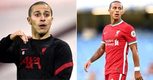 Liverpool's Thiago Alcantara Labelled 'Flop Of The Season' As Fans Point To Winless Run