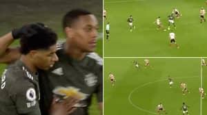Manchester United Score Sublime Team Goal Against Sheffield United