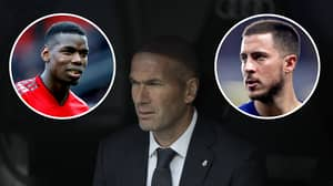 Real Madrid Fans Vote On Who They Want Out Of Eden Hazard Or Paul Pogba