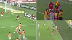 Incredible Scenes As Internacional Have 97th Minute Title Winning Goal Disallowed