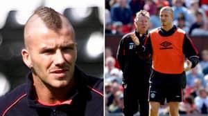 David Beckham Recalls When Sir Alex Ferguson Made Him Shave Off Mohawk Minutes Before Kick-Off