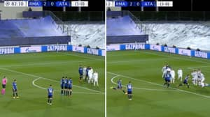 Atalanta's Genius 'Moving Wall' Free-Kick Routine Against Real Madrid Worked Brilliantly