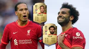 Liverpool Stars Salah, Mane, Van Dijk And Alisson ALL Downgraded In FIFA 22