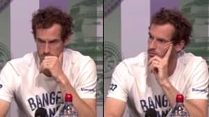Andy Murray Shuts Down Reporter For Ignoring Female Tennis Players In Post-Match Conference