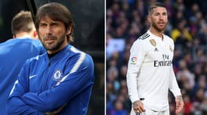 Sergio Ramos' Savage Response When Asked About Conte Taking Over At Real Madrid
