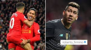 Roberto Firmino's Reaction To Philippe Coutinho's Transfer Plea Has Liverpool Fans Very Excited