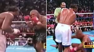 When Lennox Lewis Knocked Out Mike Tyson With A Devastating Right Hook