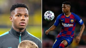 Barcelona Reject €100 Million Offer For 17-Year-Old Ansu Fati