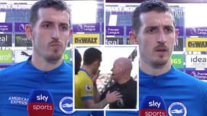Lewis Dunk Gives Brutal Interview After Lee Mason Controversially Disallowed His Goal Against West Brom