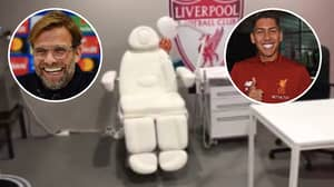 There's A Dentist's Chair In Liverpool's Champions League Final Changing Room