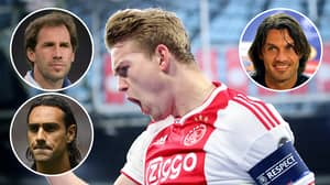 Matthijs De Ligt Is 'Ahead Of Franco Baresi, Paolo Maldini And Alessandro Nesta For His Age'