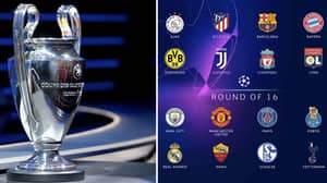 Champions League Second Round Draw