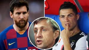 Johan Cruyff Reveals Who Is The Better Player Between Cristiano Ronaldo And Lionel Messi
