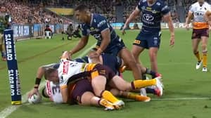 Kyle Feldt Turns Into Inspector Gadget To Score One Of The Best Tries This Season