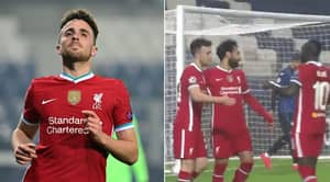 Diogo Jota Scores Brilliant Hat-Trick As Liverpool Thrash Atalanta 5-0 In Champions League